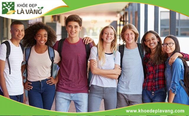 Nam và nữ ở tuổi 17 có mức chiều cao chuẩn khác nhau