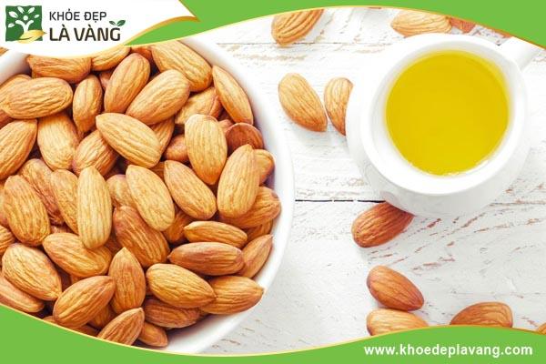 dau-hanh-nhan-ket-hop-vitamin-e-khoedeplavang