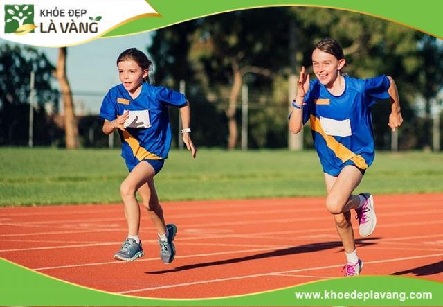 Chạy bộ giúp tăng chiều cao nhanh chóng nhưng sẽ phát huy tối đa hiệu quả khi bạn vẫn còn trong độ tuổi phát triển chiều cao