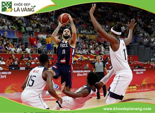 Chiều cao tốt giúp cầu thủ bóng rổ thực hiện tốt các động tác tấn công