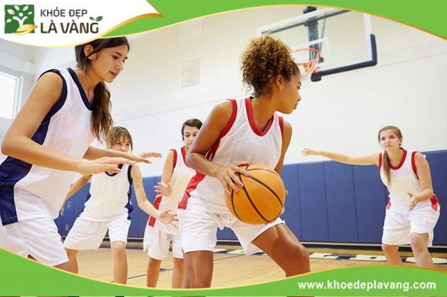Chơi bóng rổ thúc đẩy khả năng phát triển chiều cao