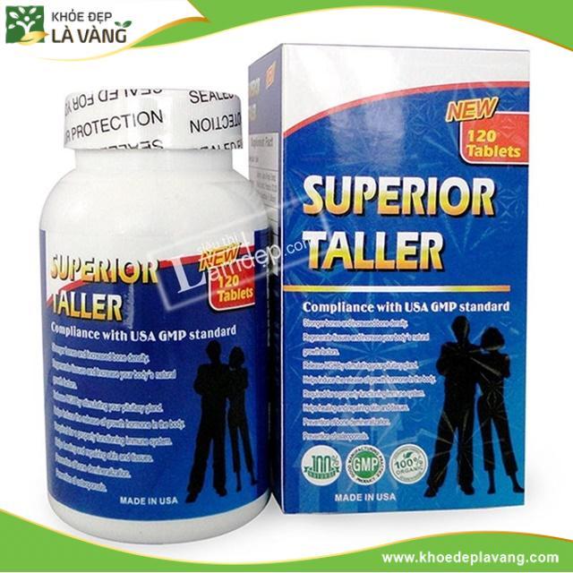 [Đánh giá] Thuốc tăng chiều cao Superior Taller có tốt hay không, giá bao nhiêu tiền?
