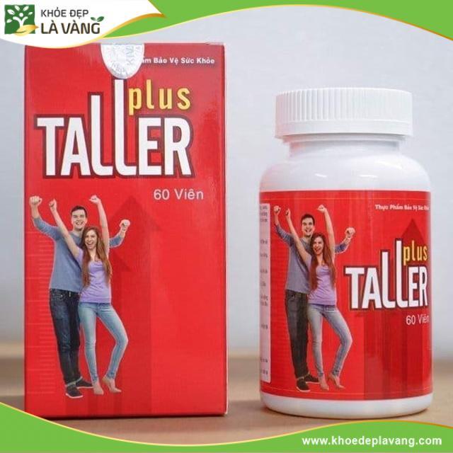 [Vạch Trần] Thuốc tăng chiều cao Taller Plus có hiệu quả thật không, giá bao nhiêu tiền?