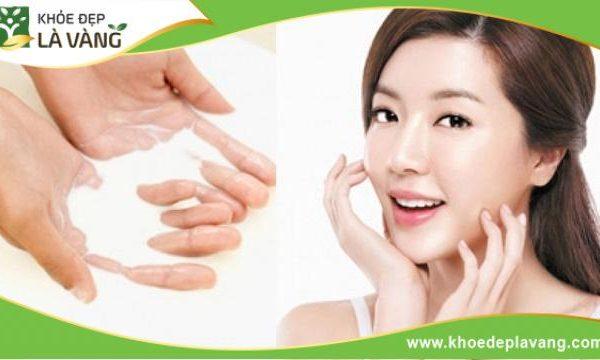 Rửa mặt bằng nước vo gạo giúp làn da sáng bóng