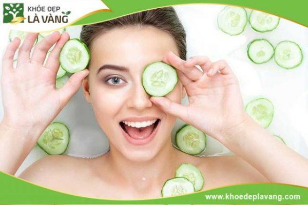 Mỗi tuần bạn chỉ nên đắp mặt nạ dưa leo từ 2 - 3 lần và chỉ để khoảng 20 phút trên da